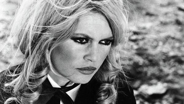 Брижит Бардо во время съемок фильма Шалако, 1968 год