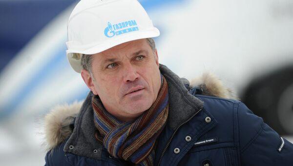 Генеральный директор ЗАО Газпромнефть-Аэро Владимир Егоров
