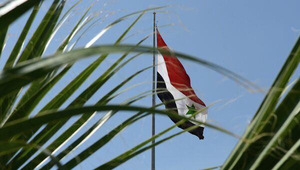 Флаг Сирии, архивное фото