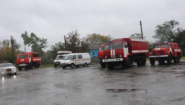 Сильные ливни в Ростовской области. Архивное фото