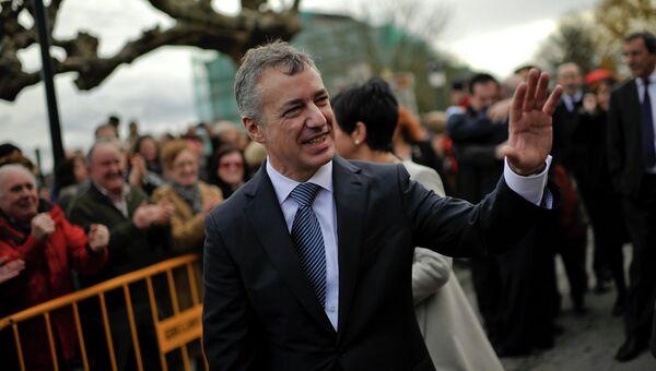 Председатель правительства Страны Басков Иньиго Уркулью. Архивное фото