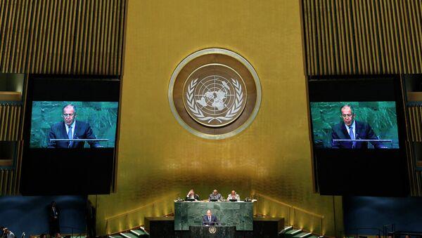 Сергей Лавров на 69-й сессии Генеральной ассамблеи ООН
