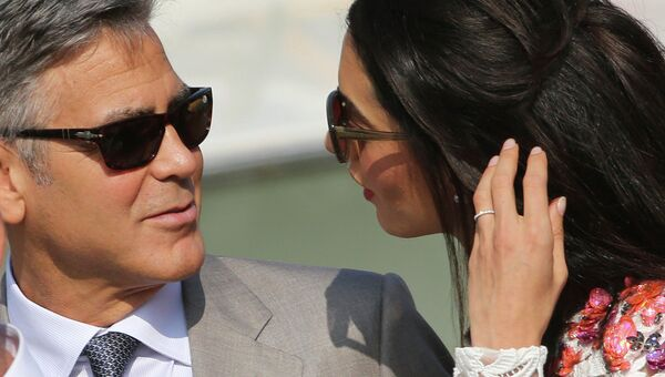 Свадьба Джорджа Клуни и Амаль Аламуддин в Венеции