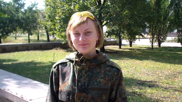 Флорист и модель рассказала, почему воюет за ДНР