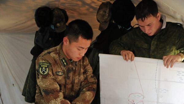 Совместные двусторонние российско-китайские учения в Забайкальском крае