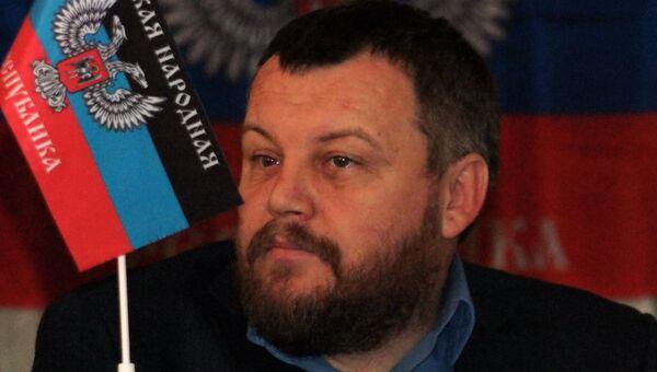 Первый вице-премьер самопровозглашенной Донецкой народной республики Андрей Пургин. Архивное фото