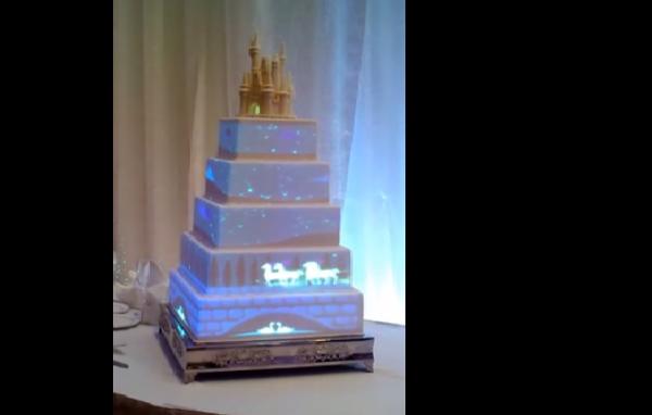 Кремовый торт с видеоэффектами