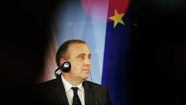 Бывший министр иностранных дел Польши Гжегож Схетына