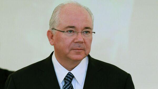 Министр иностранных дел Венесуэлы Рафаэль Рамирес. Архивное фото