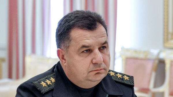 Командующий Национальной гвардией Украины Степан Полторак