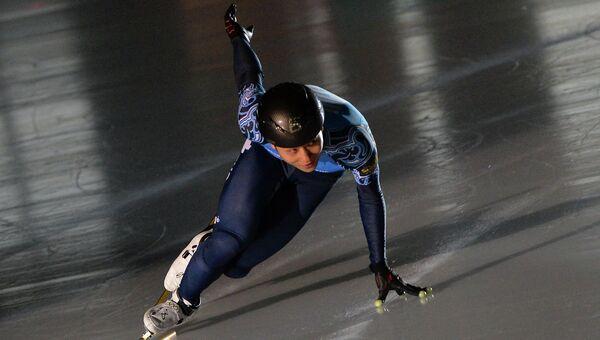 Шестикратный олимпийский чемпион по шорт-треку Виктор Ан. Архивное фото