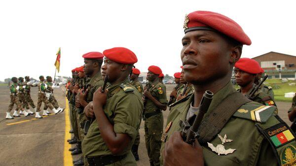 Военные в Камеруне