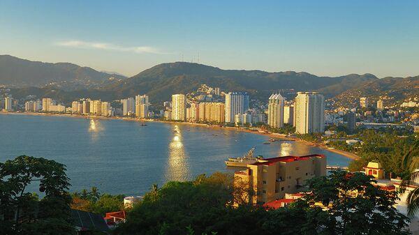 Курортная зона в Акапулько. Архивное фото
