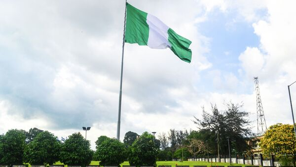 Флаг Нигерии, архивное фото