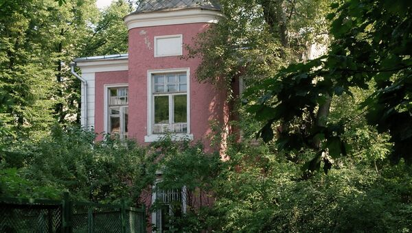 Здание музея Есенина в переулке Чернышевского, архивное фото