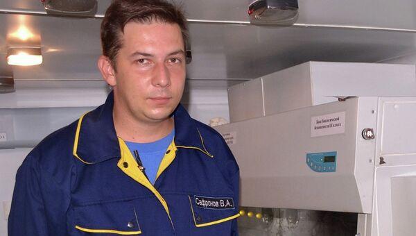 Глава специализированный противоэпидемической бригады Роспотребнадзора, работающий в Гвинее, Валентин Сафронов