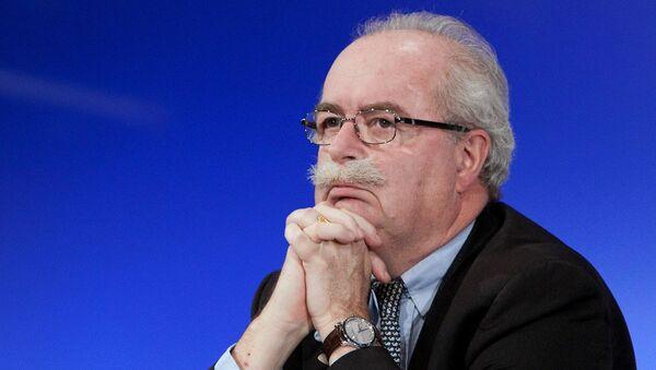 Глава французской компании Total Кристоф де Маржери. Архивное фото