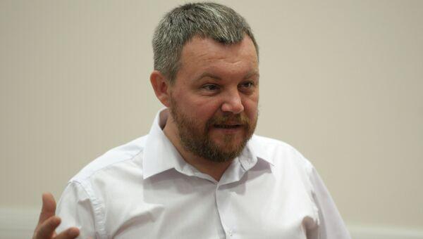 Председатель Народного совета ДНР Андрей Пургин. Архивное фото