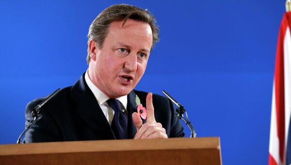 Британский премьер-министр Дэвид Кэмерон. Архивное фото