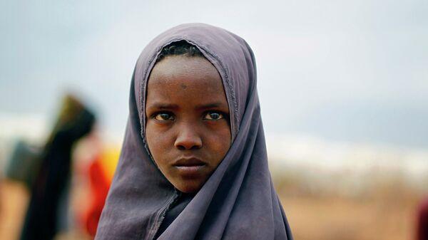 Сомалийская девушка. Архивное фото