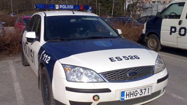 Машина полиции Финляндии