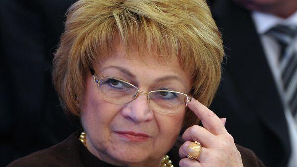 Людмила Швецова. Архивное фото