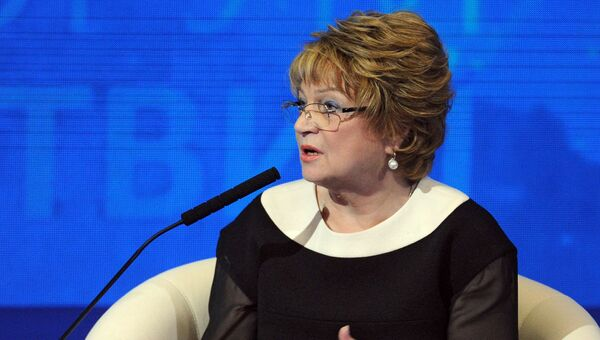 Заместитель председателя Государственной Думы РФ Людмила Швецова. Архивное фото