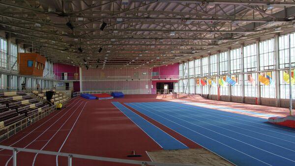 Спортивный зал, архивное фото