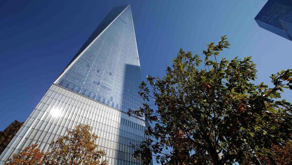 Открытие заново отстроенного Всемирного торгового центра в Нью-Йорке