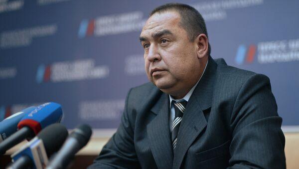 Избранный глава Луганской народной республики Игорь Плотницкий. Архивное фото
