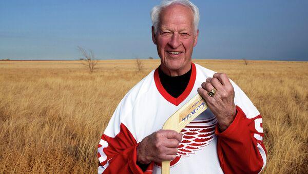 Канадский легендарный хоккеист Горди Хоу