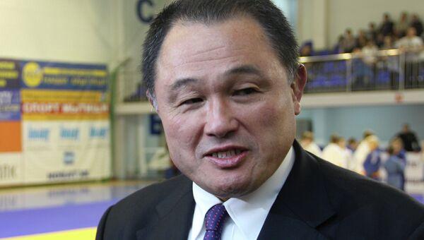 Вице-президент Федерации дзюдо Японии Ясухиро Ямасита