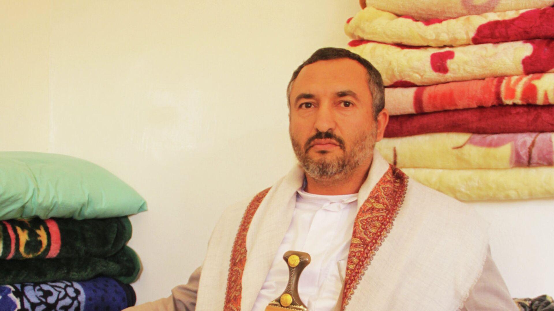 Руководитель исполкома движения Ансар Алла Абдель Карим аль-Хуси - РИА Новости, 1920, 16.02.2021