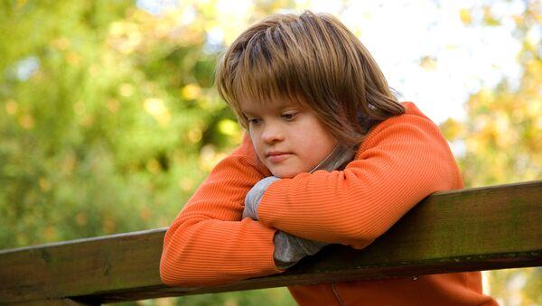 Ребенок с синдромом Дауна. Архивное фото