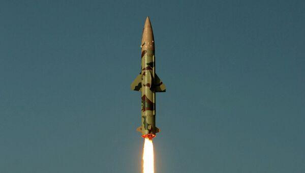 Ракета класса земля-земля Prithvi II. Архивное фото