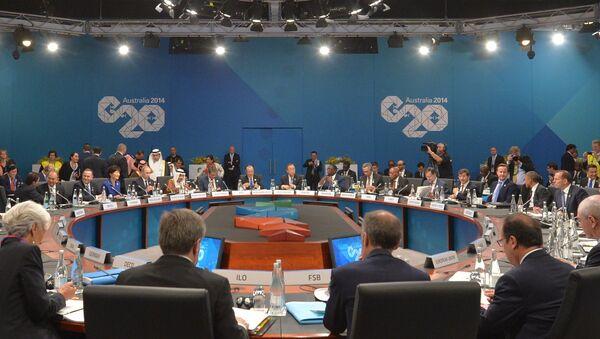 Саммит Группы двадцати в Брисбене. Архивное фото