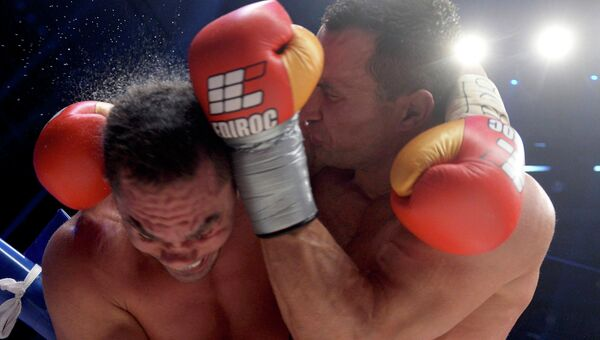 Бокс, бой Кличко - Пулев