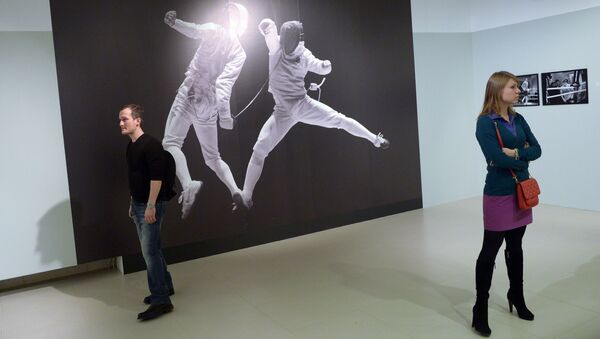 Выставка Владимира Вяткина Энергия поиска, архивное фото