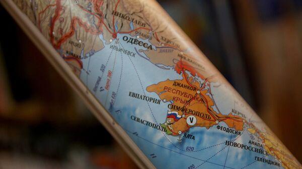 Карта. Архивное фото