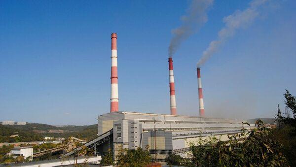 Энергообъект холдинга РАО Энергетические системы Востока. Архивное фото
