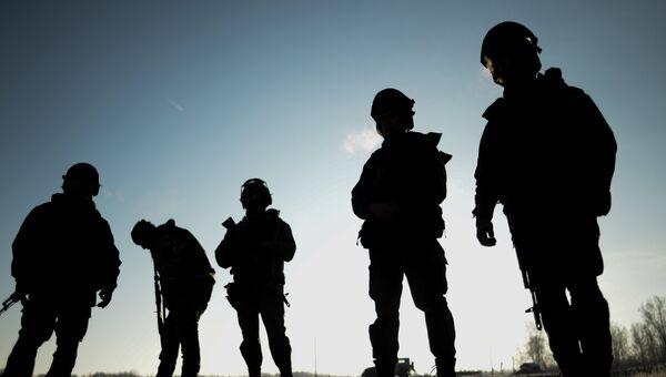 Спецназ в Дагестане, архивное фото