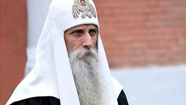 Предстоятель Русской православной старообрядческой церкви митрополит Корнилий