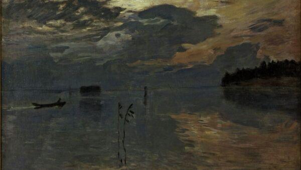 Исаак Левитан Сумерки над водой