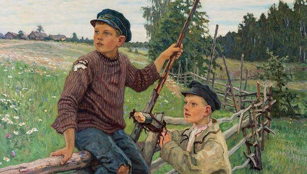 Николай Богданов-Бельский, Деревенские мальчики 1920
