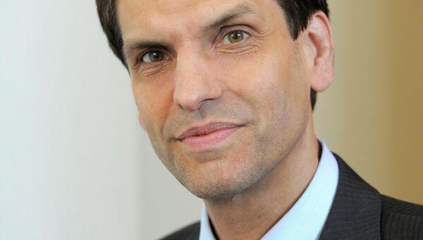 Член координационного комитета Петербургского диалога и член правления Германо-российского форума Мартин Хоффман