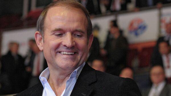 Лидер движения Украинский выбор Виктор Медведчук. Архивное фото