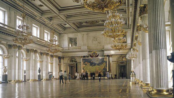 Георгиевский зал Эрмитажа. Архивное фото