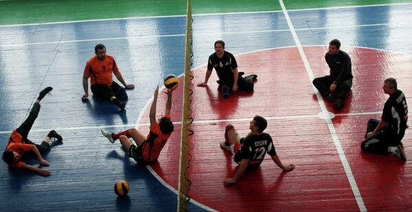 В Донецке состоялись первые в ДНР спортивные соревнования среди инвалидов