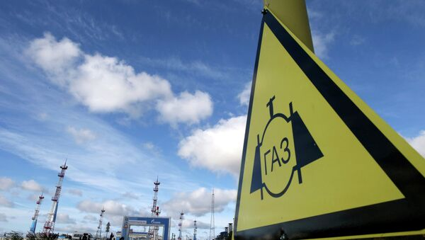 Территория газохранилища