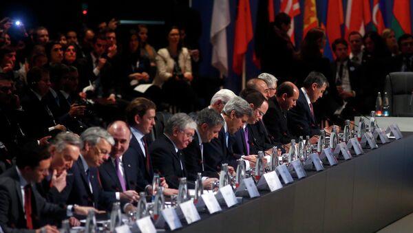 Заседание Совета министров иностранных дел (СМИД) ОБСЕ